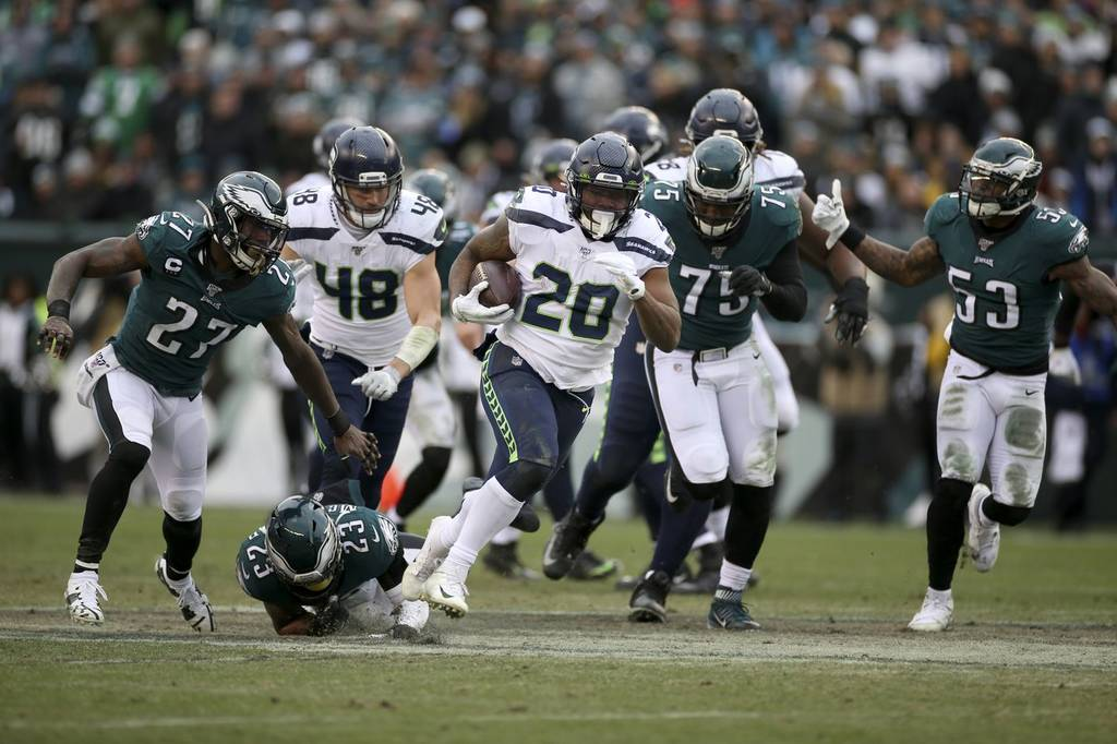 Le corse di Penny (Seattle Seahawks vs Philadelphia Eagles 17-9)