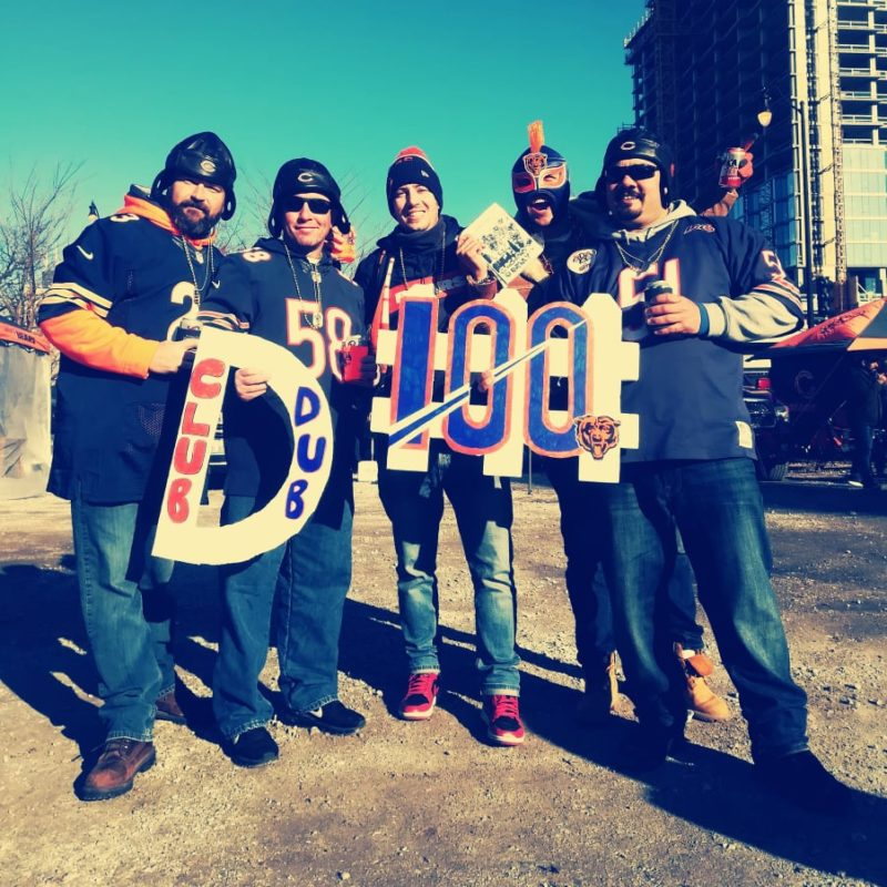 bears tailgating club