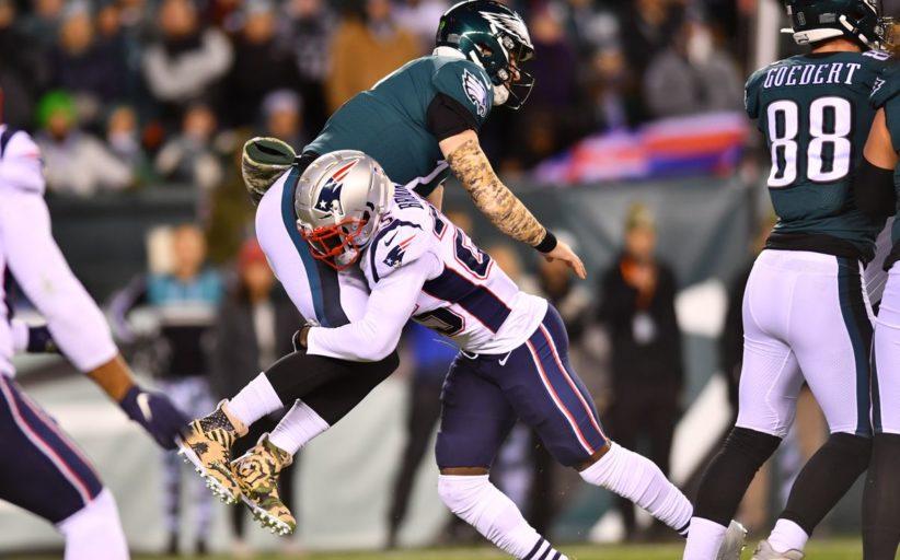 Super Bowl rematch (New England Patriots vs Philadelphia Eagles 17-10)