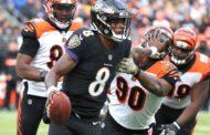 Jackson ammaestra le tigri (Baltimore Ravens vs Cincinnati Bengals 49-13)