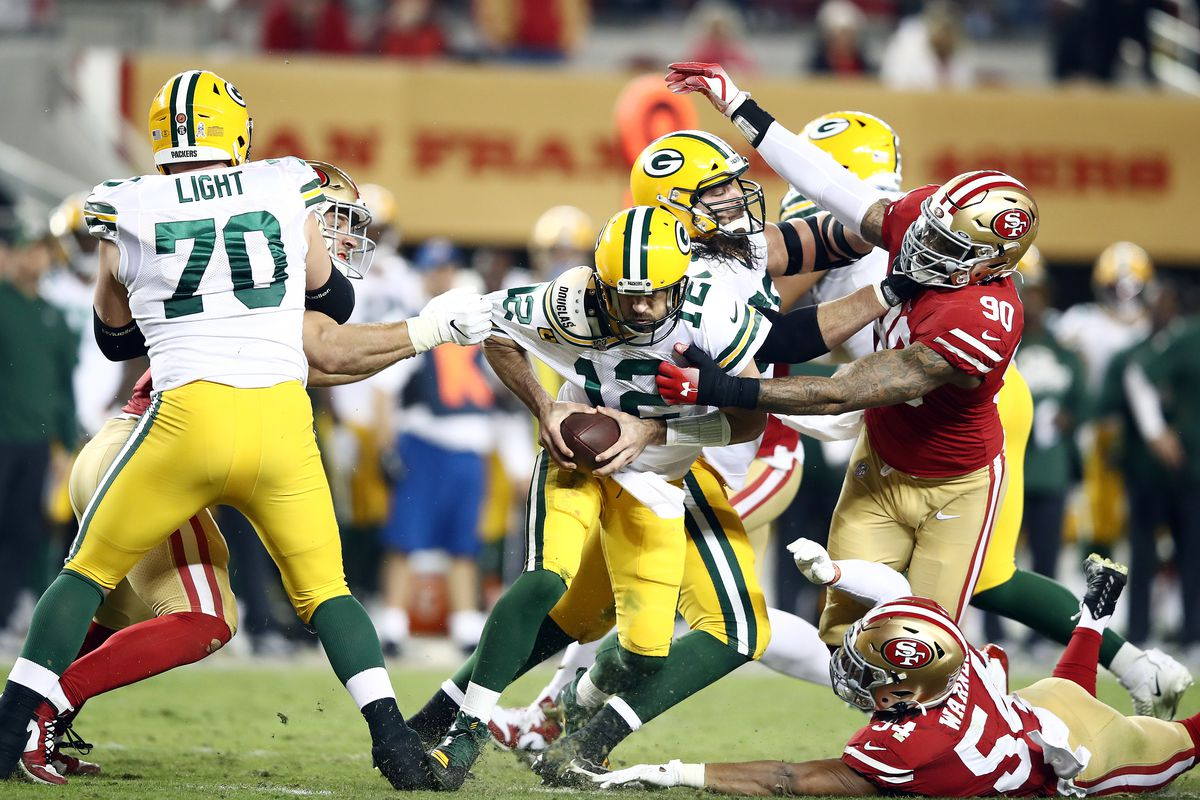 Packers impacchettati (Green Bay Packers vs San Francisco 49ers 8-37)