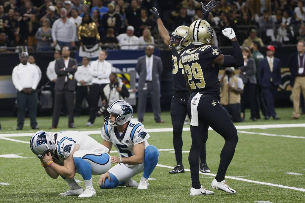 Problemi di kicker (Carolina Panthers vs New Orleans Saints 31-34)