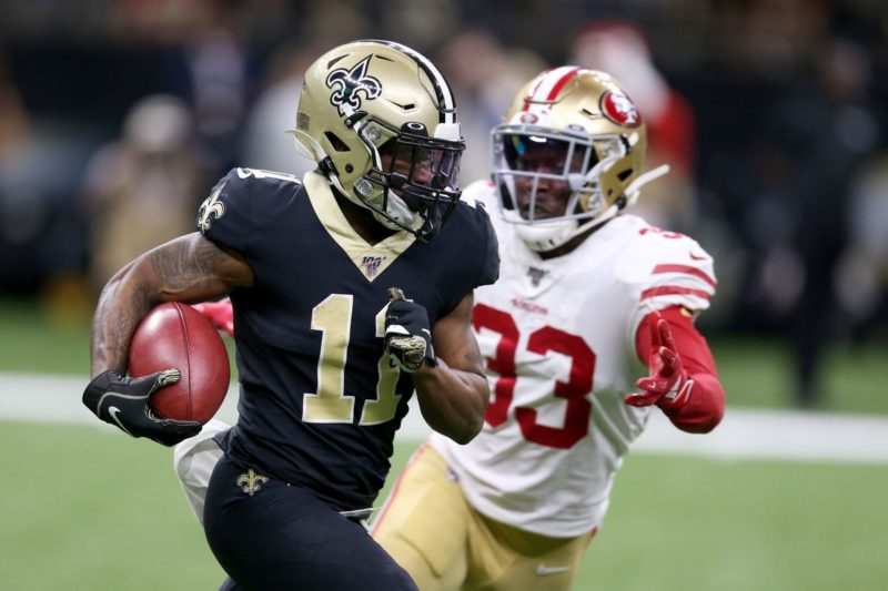 Deonte Harris Saints 49ers