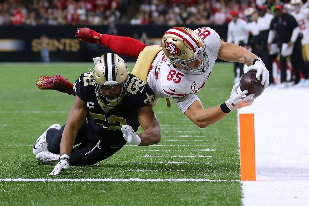 Incontro tra pesi massimi (San Francisco 49ers vs New Orleans Saints 48-46)