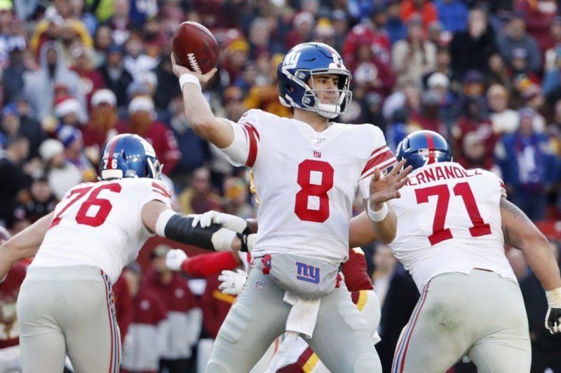 daniel jones giants quarterback