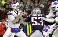 Josh Allen contro i Patriots