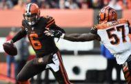 I Browns provano a restare in gioco (Cincinnati Bengals vs Cleveland Browns 19-27)