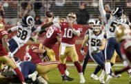 Stagione finita a LA (Los Angeles Rams vs San Francisco 49ers 31-34)