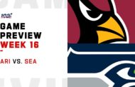 [NFL] Week 16: Preview Arizona Cardinals vs Seattle Seahawks
