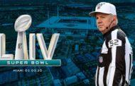 La crew arbitrale del Super Bowl LIV