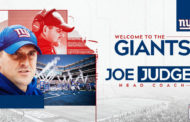 Joe Judge è il nuovo Head Coach dei New York Giants