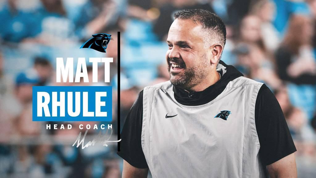 Matt Rhule è il nuovo Head Coach dei Carolina Panthers