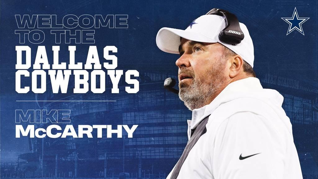 Mike McCarthy è il nuovo Head Coach dei Dallas Cowboys