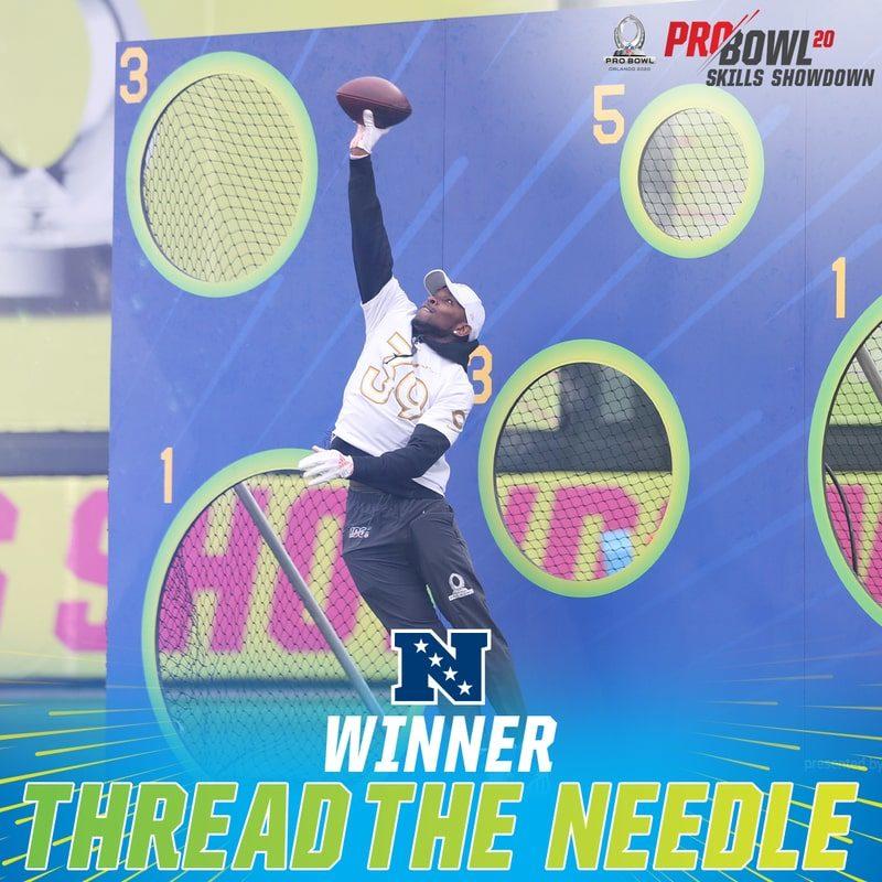 skills game Pro bowl needle