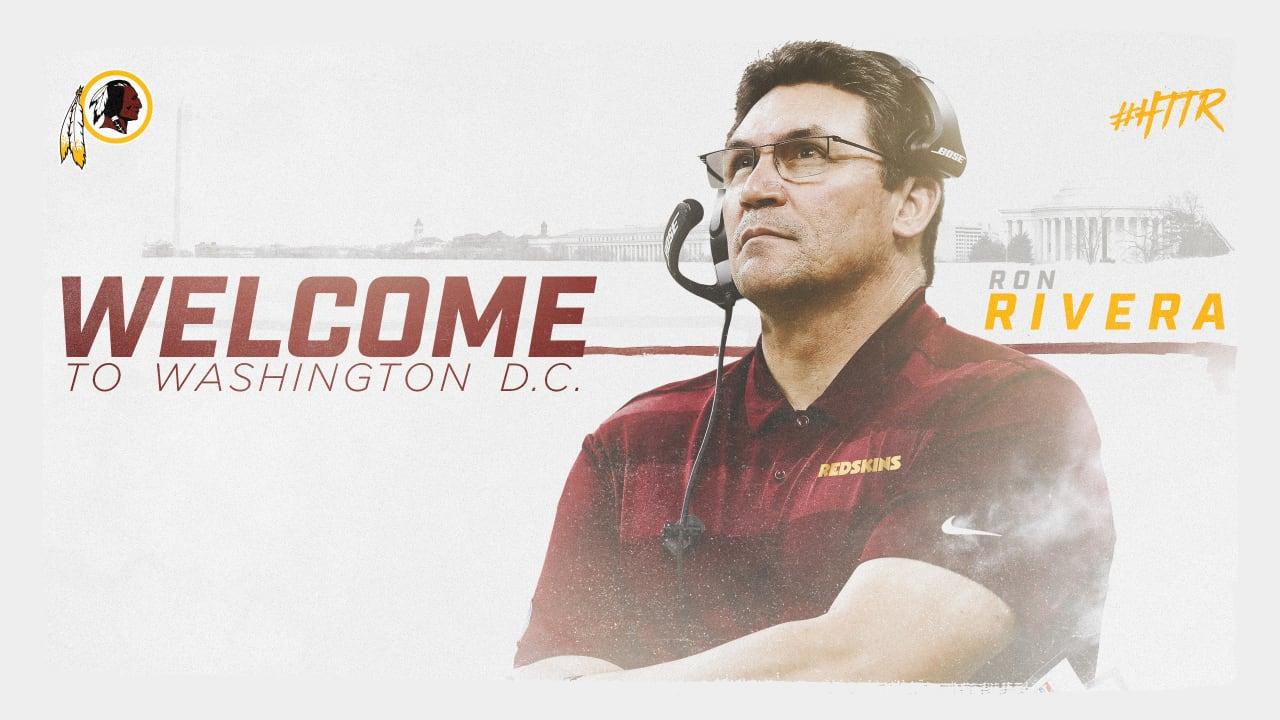 Ron Rivera è il nuovo head coach dei Washington Redskins
