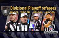 Divisional 2019: le crew arbitrali