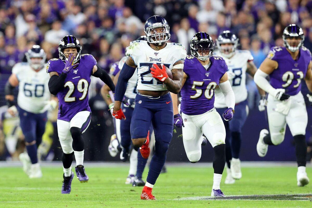 Nel nome di Derrick Henry (Tennessee Titans vs Baltimore Ravens 28-12)