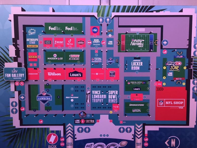mappa NFL experience