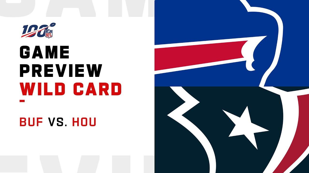 Wild Card Preview: Buffalo Bills vs Houston Texans