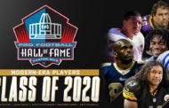 La classe 2020 della Hall of Fame