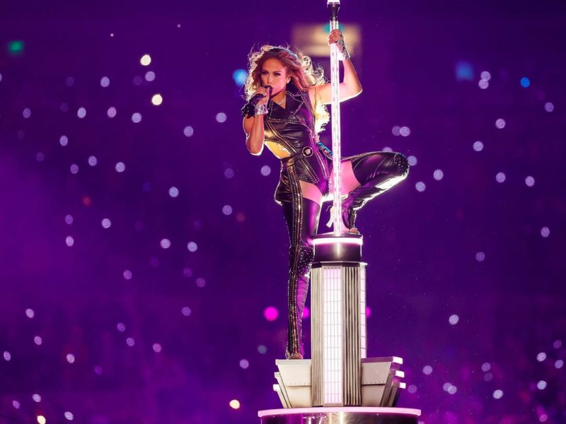 Jennifer Lopez halftime show super bowl