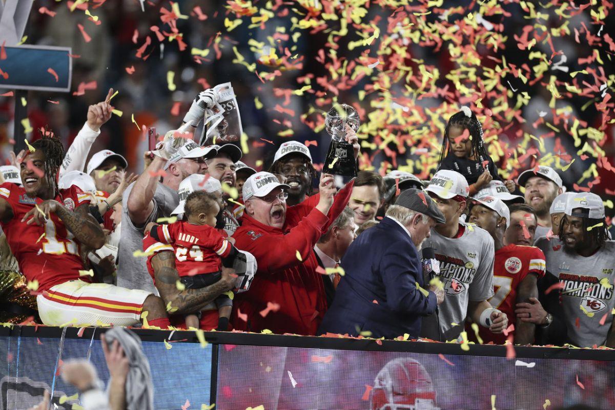 Super Bowl LIV: Dalla panchina dei Kansas City Chiefs