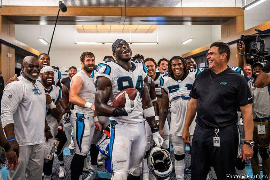 Efe Obada, dalla Nigeria ai Carolina Panthers