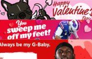 Le squadre NFL e San Valentino