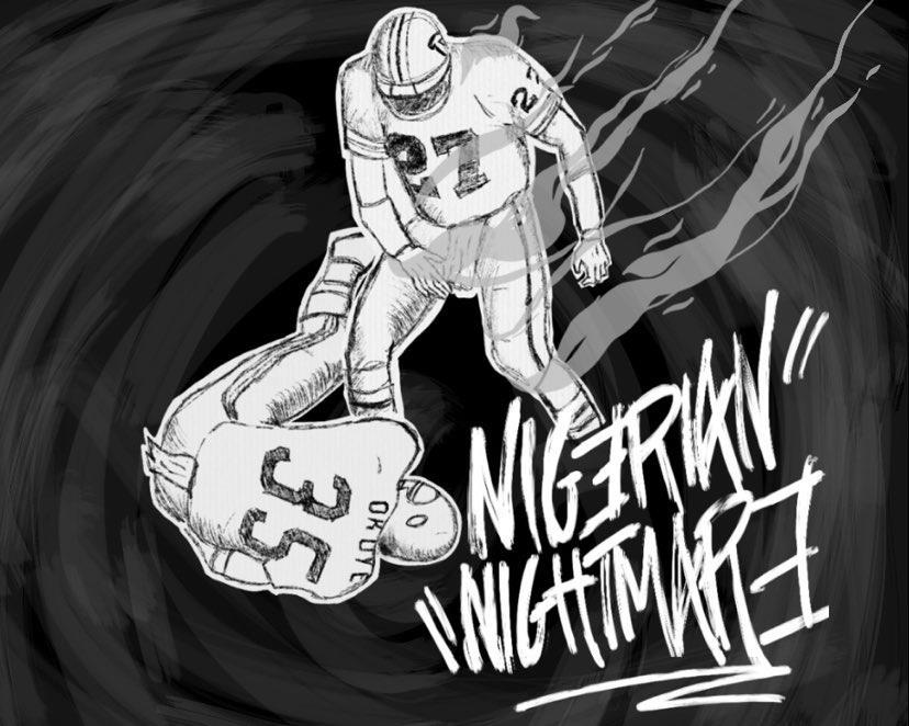 Atwater vs Okoye, il tackle che ha risvegliato la NFL dall'incubo nigeriano