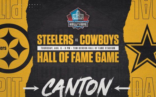 Steelers e Cowboys giocheranno l'Hall of Fame Game