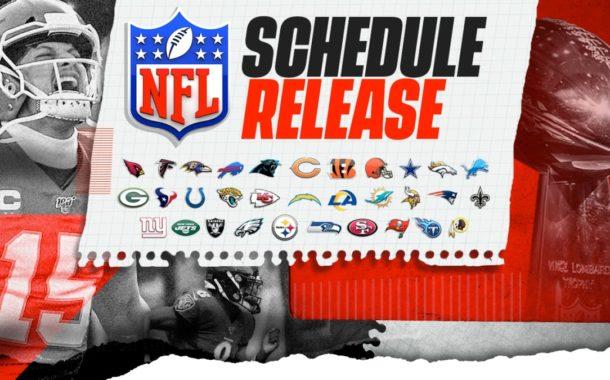Il calendario della stagione 2020 della NFL