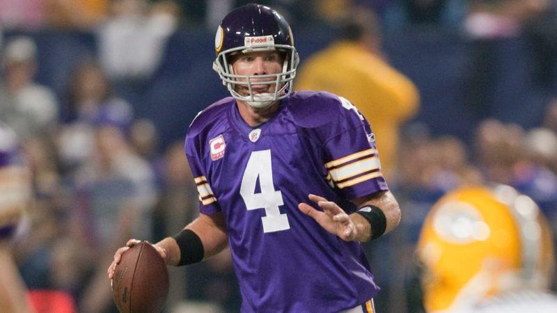 Brett Favre (2008 New York Jets - 2009-10 Minnesota Vikings)