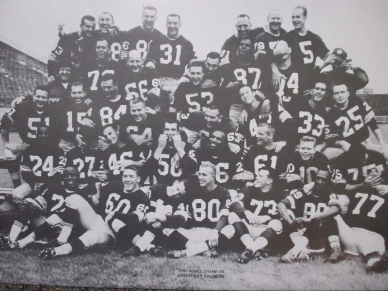 Green Bay packers 1962