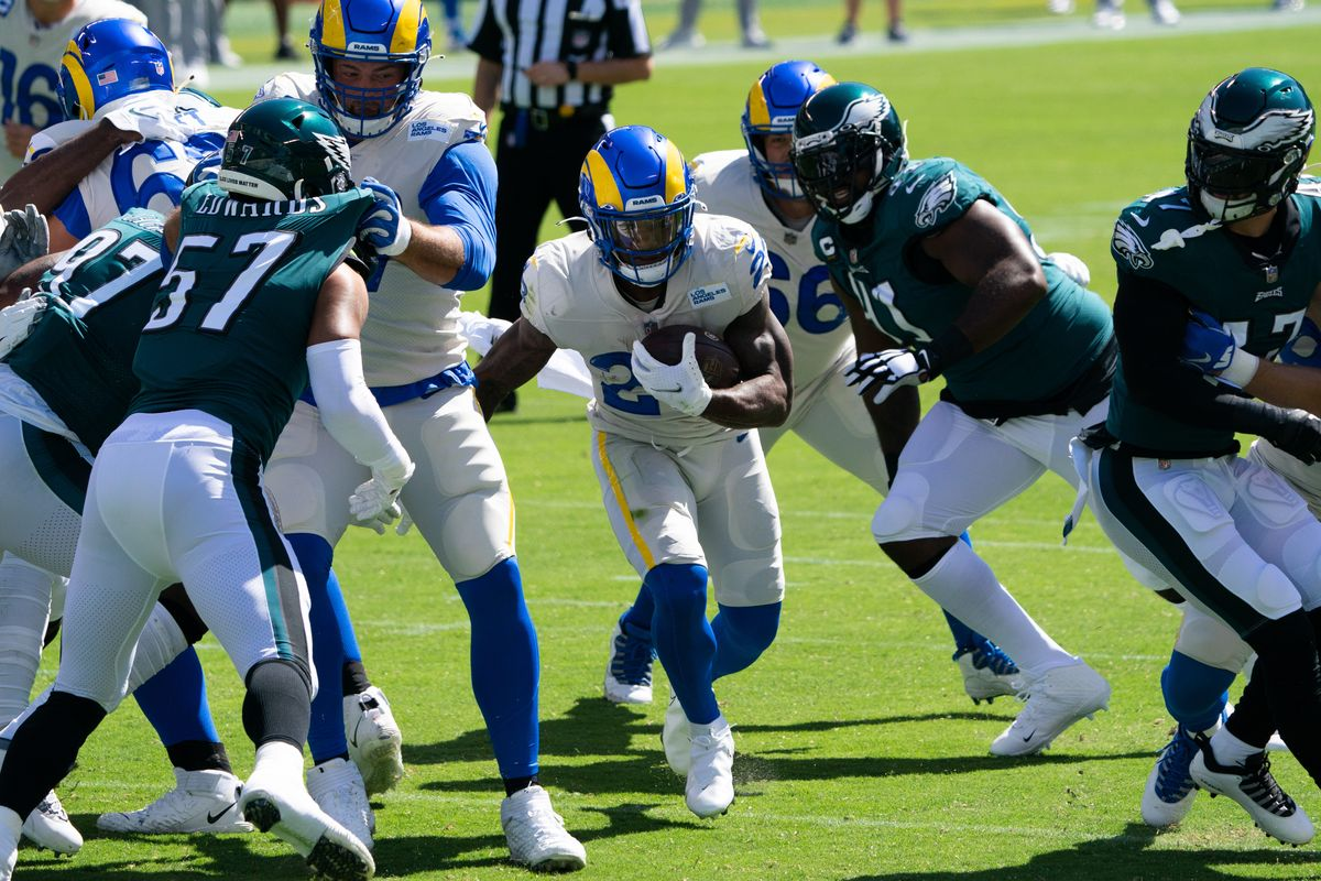 Un Goff quasi perfetto (Los Angeles Rams vs Philadelphia Eagles 37-19)