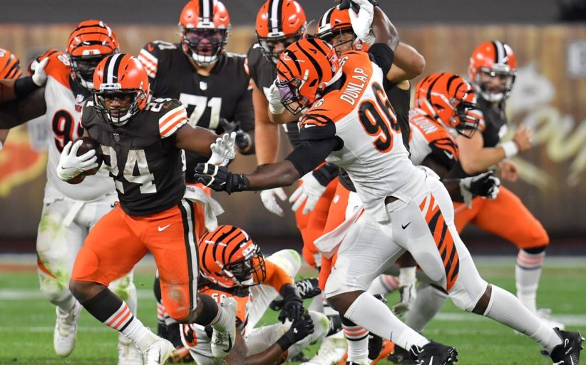 Respiro Browns (Cincinnati Bengals vs Cleveland Browns 30-35)