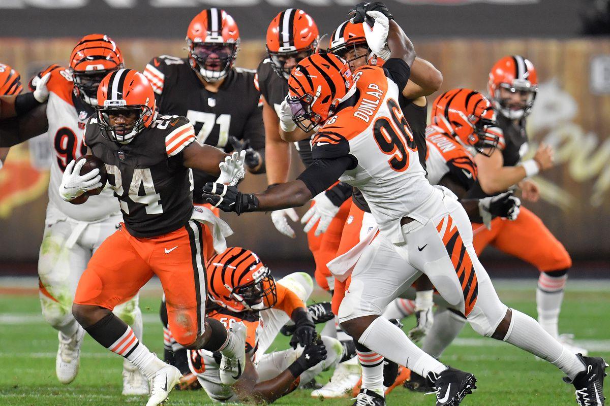 Respiro Browns (Cincinnati Bengals vs Cleveland Browns 30-35)