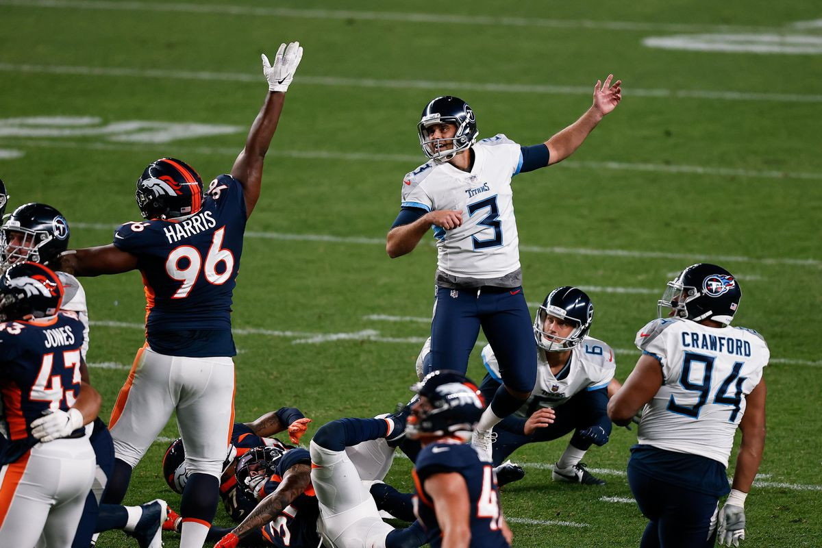Gostkowski nel bene e nel male (Tennessee Titans vs Denver Broncos 16-14)