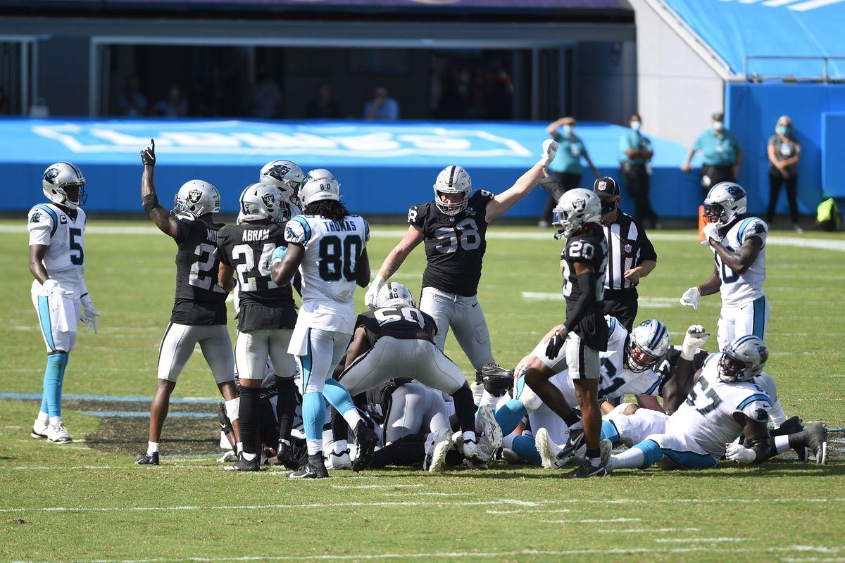 Ride bene chi ride ultimo (Las Vegas Raiders 34 vs Carolina Panthers 30)