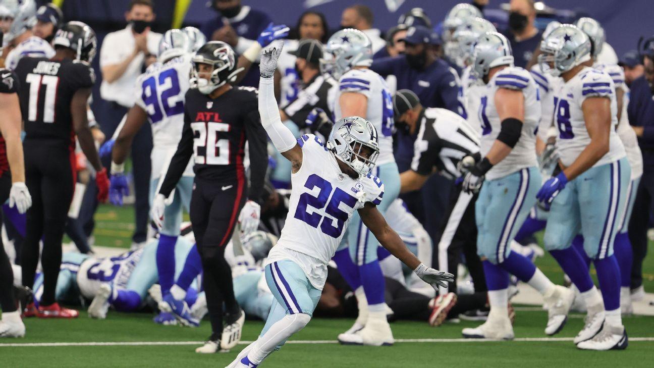 20 punti di vantaggio... (Atlanta Falcons vs Dallas Cowboys 39-40)