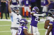 Senza un calzino (Tennessee Titans vs Minnesota Vikings 31-30)