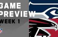 [NFL] Week 1: Preview Seattle Seahawks vs Atlanta Falcons