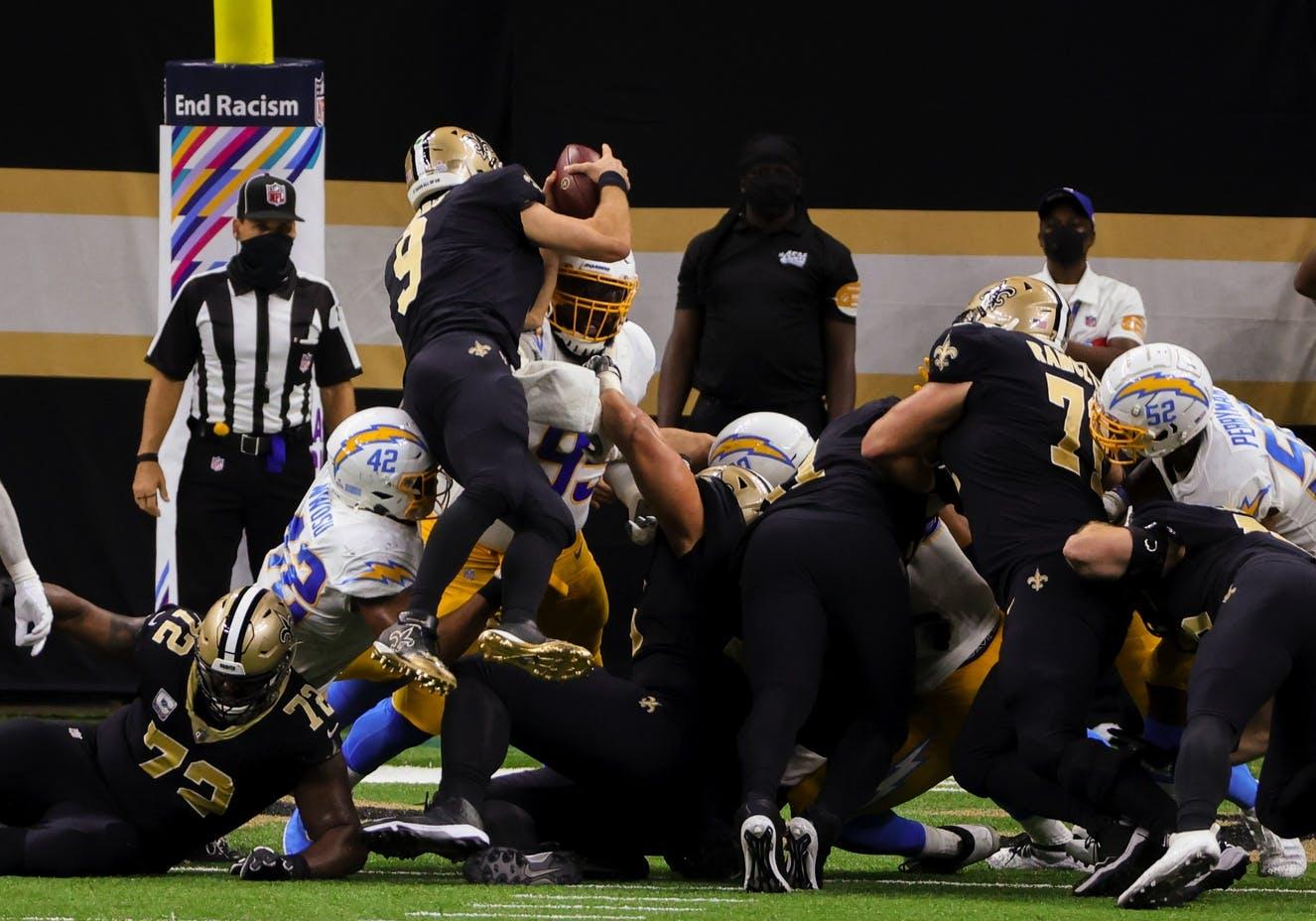 Saints di rimonta e Chargers spreconi (Los Angeles Chargers vs New Orleans Saints 27-30)