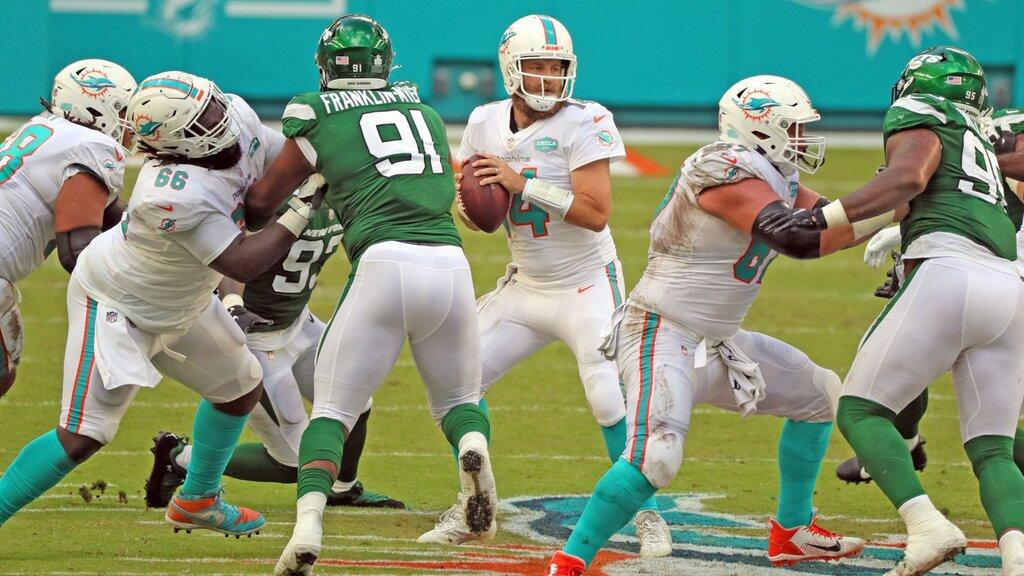 Delfini travolgenti (New York Jets vs Miami Dolphins 0-24)
