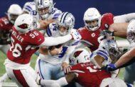 Lunedì nero per Dallas (Arizona Cardinals vs Dallas Cowboys 38-10)