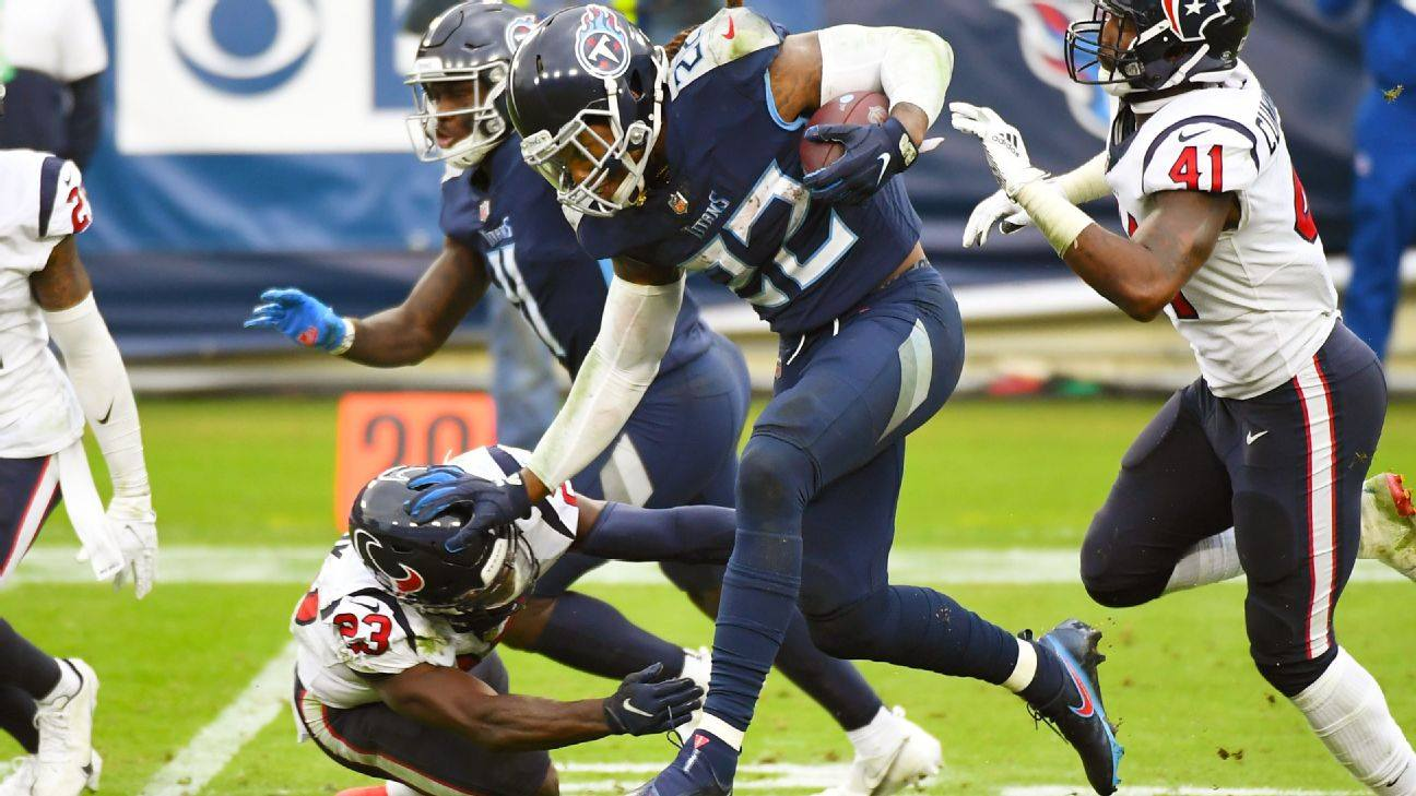 King Henry, sovrano del Tennessee (Houston Texans vs Tennessee Titans 36-42)