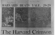 Il giorno in cui Harvard battè Yale