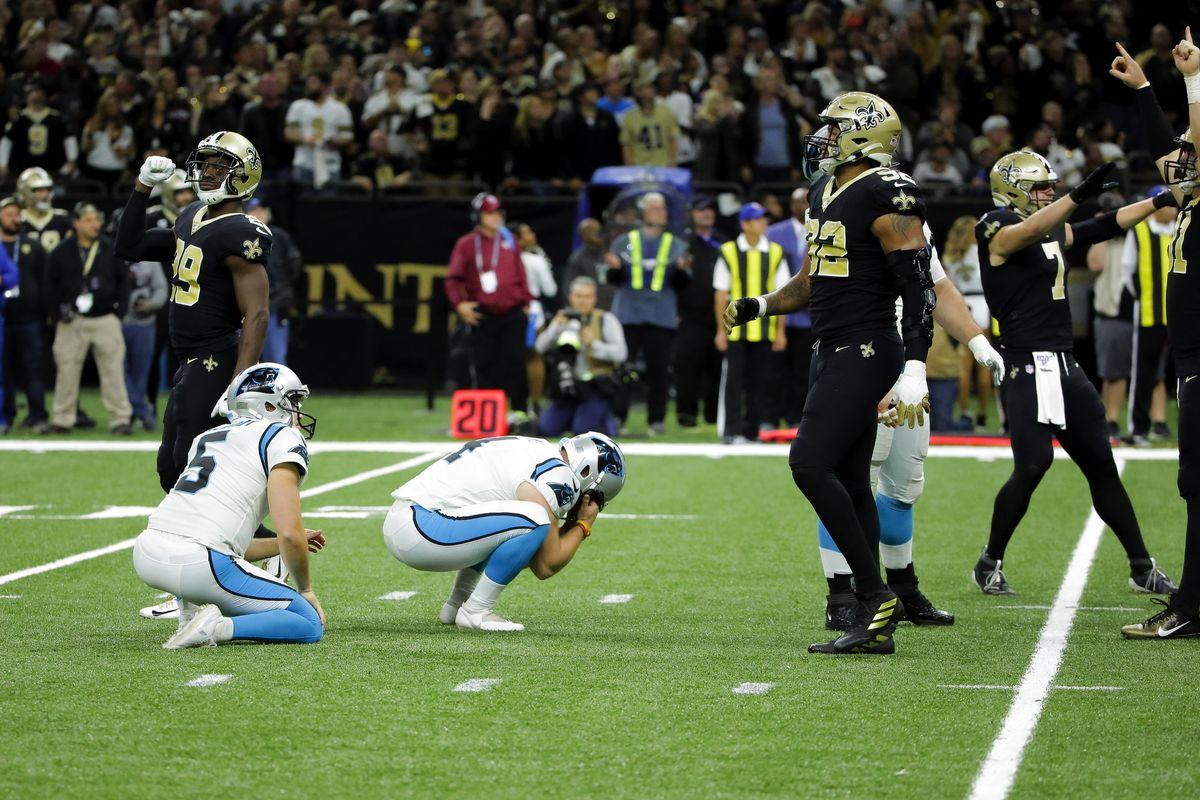 Tre punti per una W (Carolina Panthers vs New Orleans Saints 24-27)