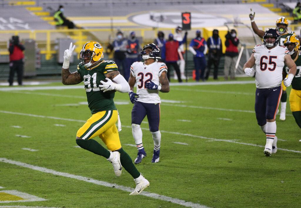 Trubisky, la seconda chance è un fumble (Chicago Bears vs Green Bay Packers 25-41)