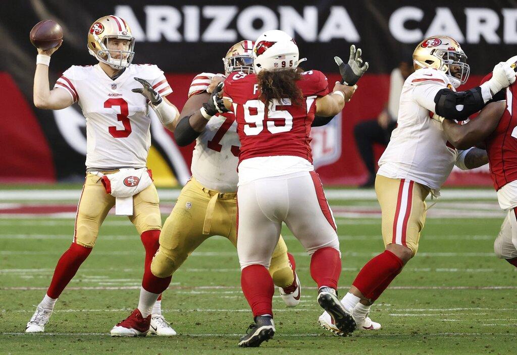 C.J. Beathard's game (San Francisco 49ers vs Arizona Cardinals 20-12)