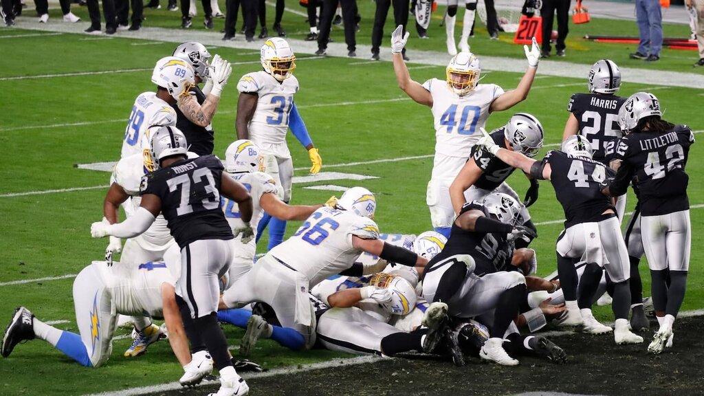 Vinca lei, no vinca lei (Los Angeles Chargers vs Las Vegas Raiders 30-27)